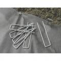 Скоби за прикрепване на градинско фолио,17х3,5, метал - 10 бр/оп