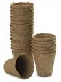 Саксии торфени за разсад 60х60 мм, кръгли - 10 бр