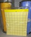 Леплива уловка ЖЪЛТА , за л. въшки и белокр, 25 х 20 см-10 бр/оп